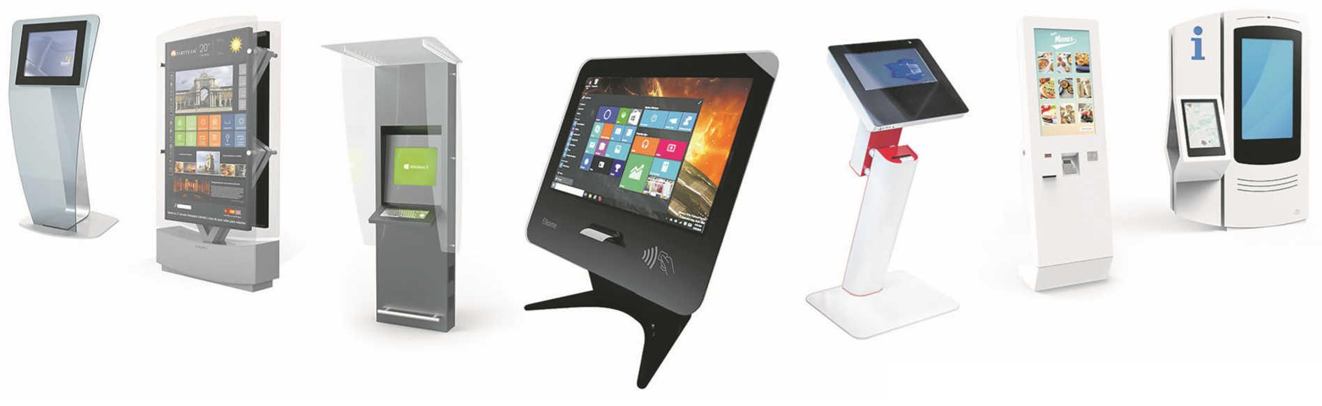 Infokioskit ja palveluautomaatit - Tuotteet Elkomen verkkokaupassa