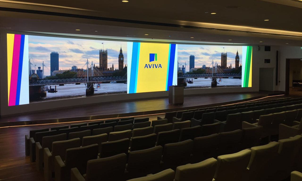 Unilumin - London AVIVA Center