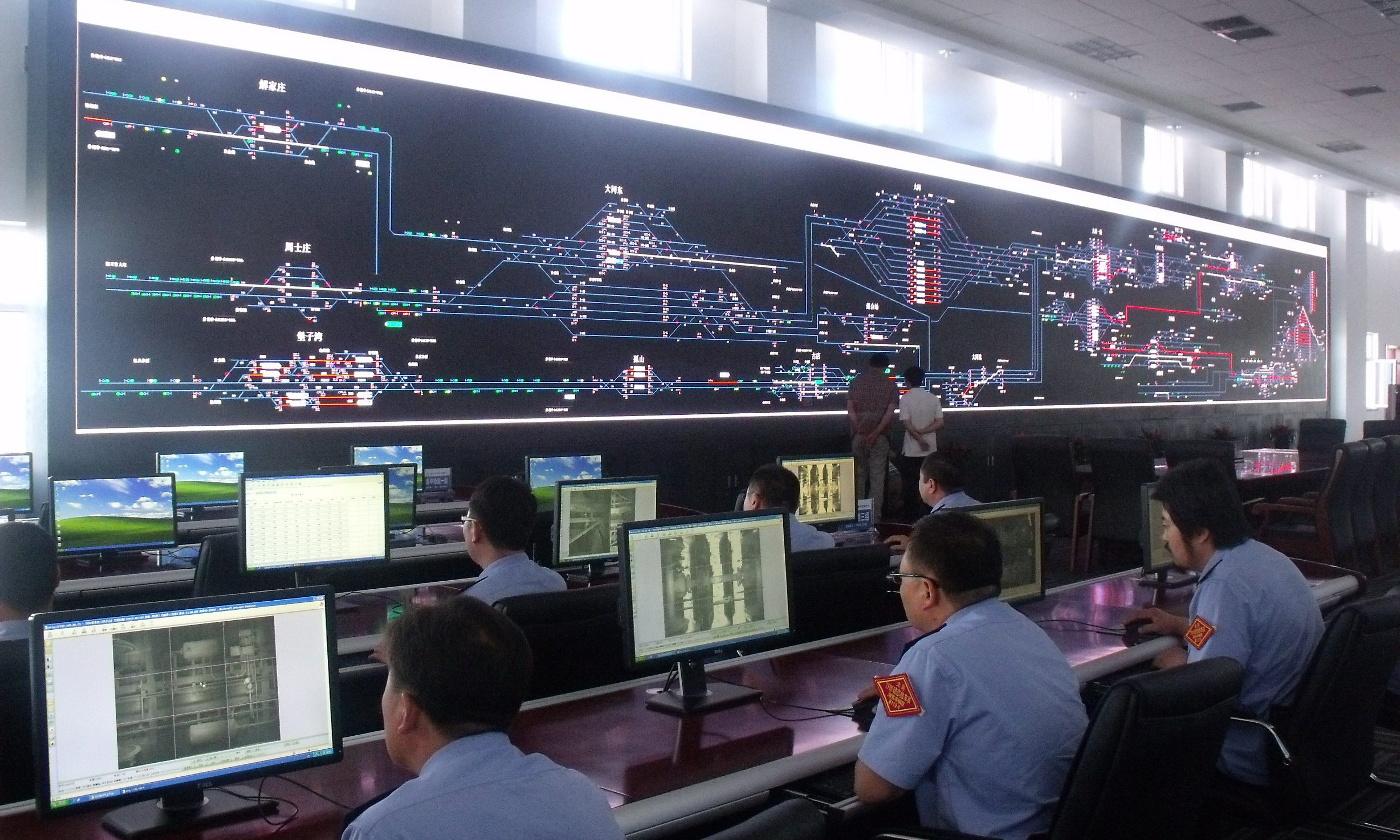Unilumin - UTV2.5 73sqm, Command center in Datong, Shanxi,2013