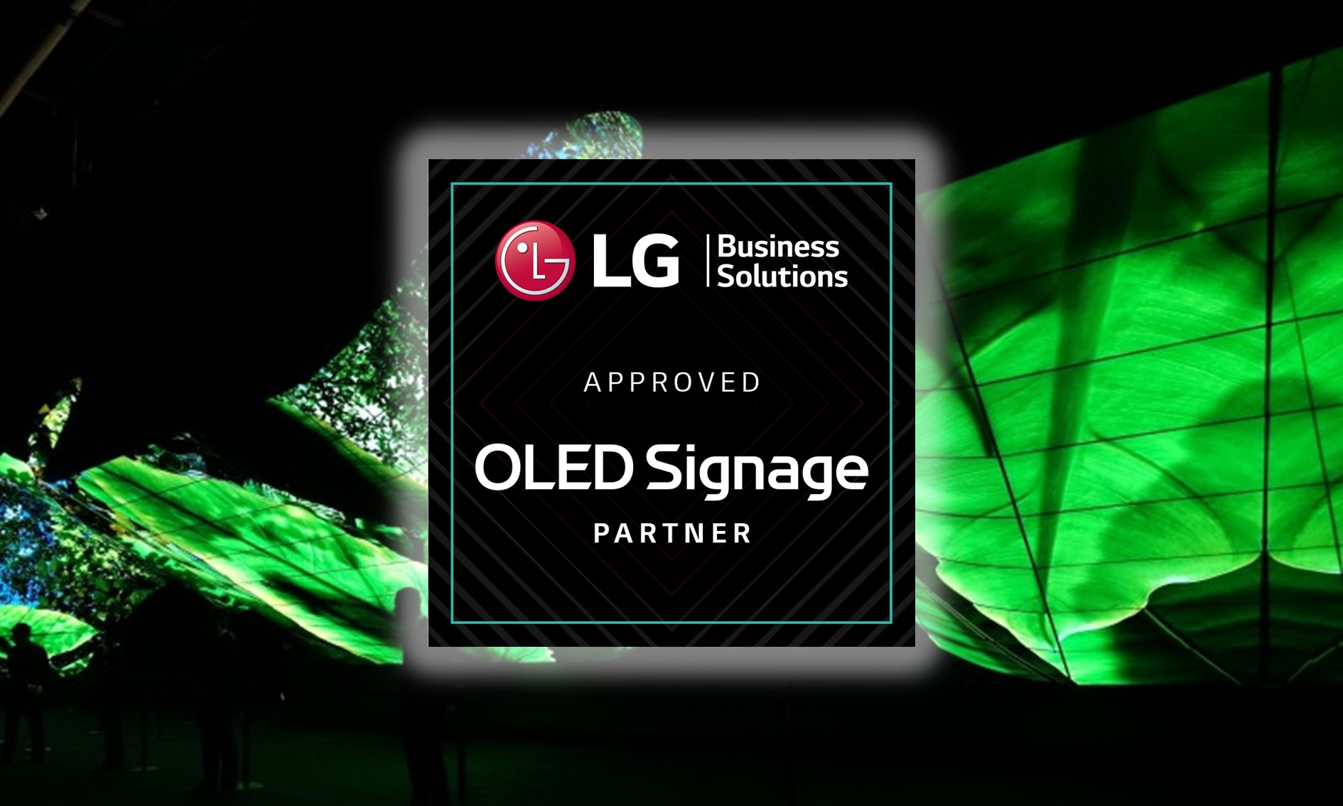 Approved OLED Signage Partner